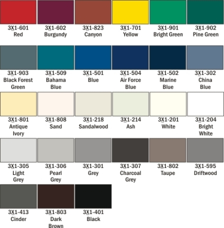 Color Options For Engraved Ada Signage